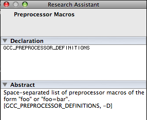 Xcode Research Assitant